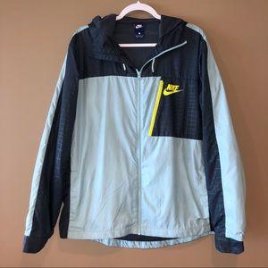 NIKE Windbreaker, Athletic Jacket, Rain Coat, Top